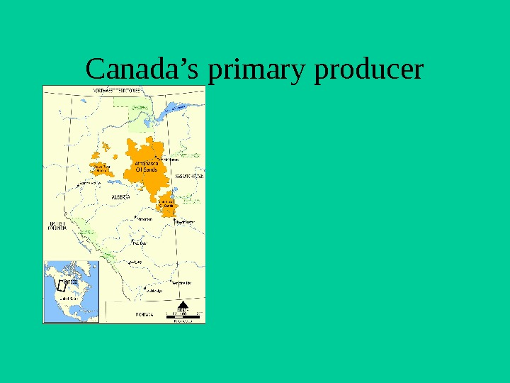 Canada's primary producer