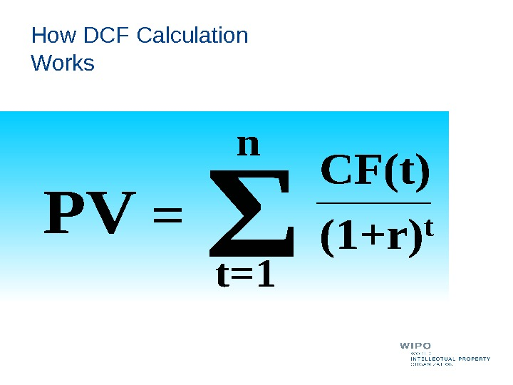 How DCF Calculation Works