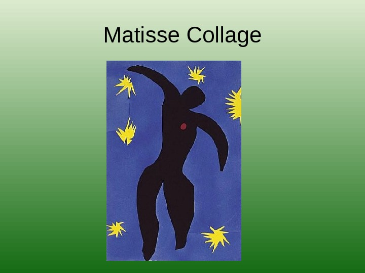 Matisse Collage