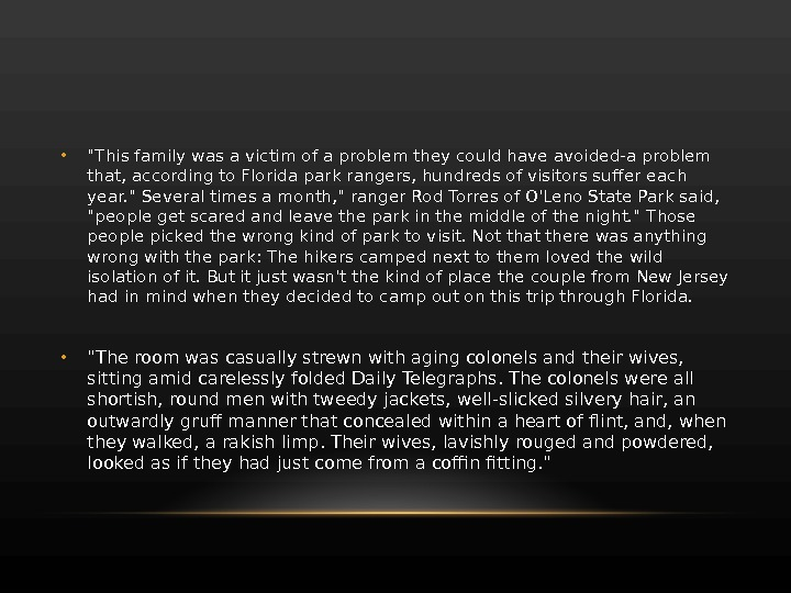 • This family was a victim of a problem they could have avoided-a problem that,