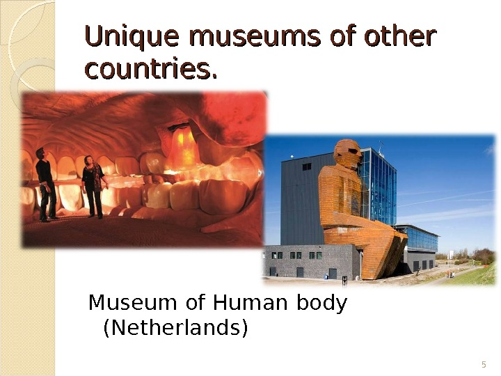 Unique museums of other countries. Museum of Human body (Netherlands) 5