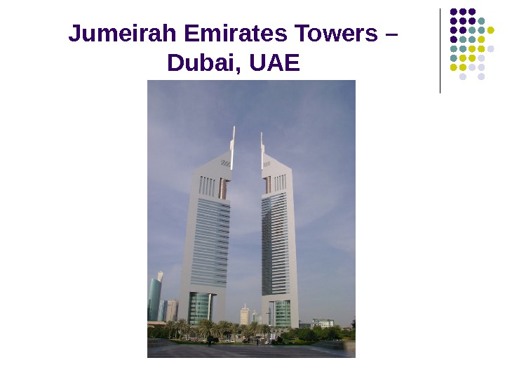 Jumeirah Emirates Towers – Dubai ,  U АЕ