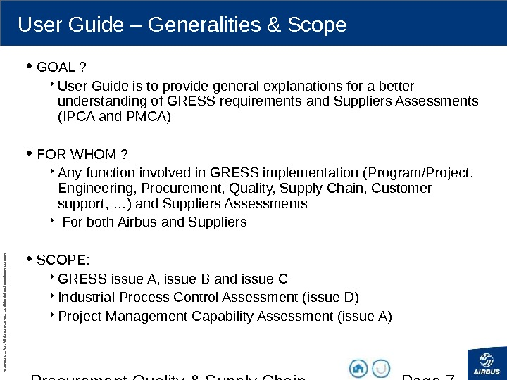 procurement quality supply chain pqdr user rh present5 com user guide for airbrush airbus user guide