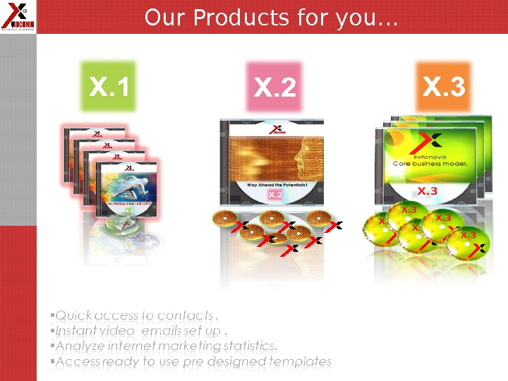 Our Products for you…