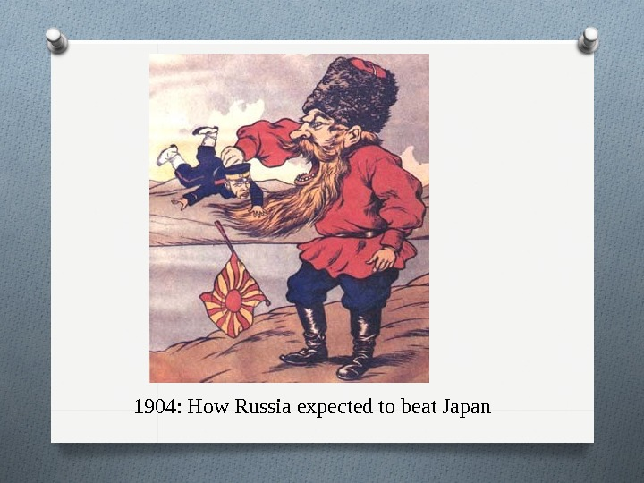 1904: How Russia expected to beat Japan