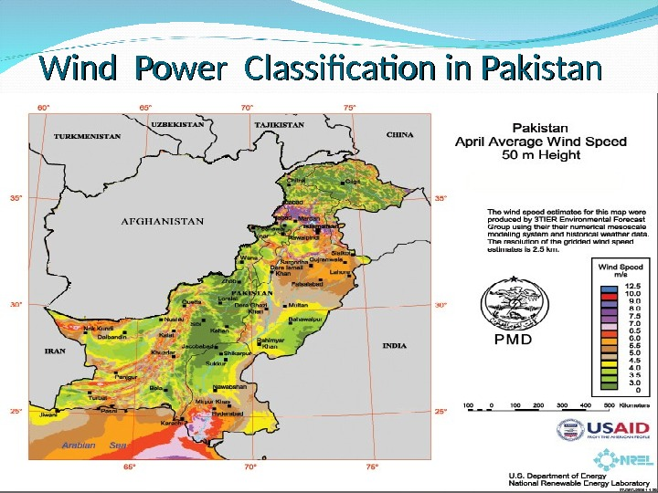 Wind Power Classification in Pakistan