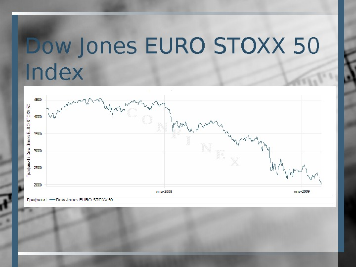 Dow Jones EURO STOXX 50 Index
