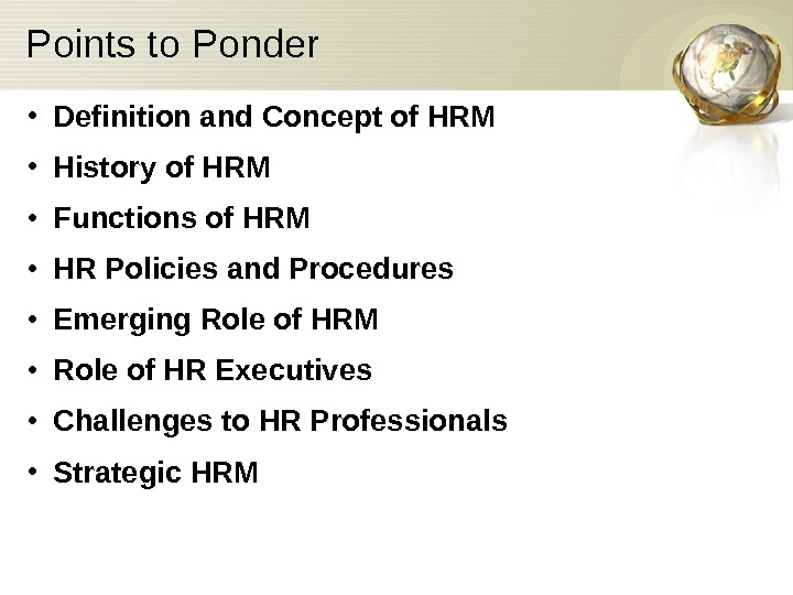 essays on hrm Importance of hrm policies and practices business essay introduction before one can discuss on the subject of effective human resource policies and practices (hrm.