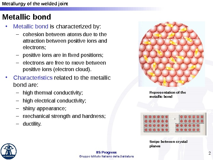 an analysis of the metal bonding in metalurgy Xps surface analysis provides a quantitative analysis for all it provides considerable chemical bonding anderson materials evaluation, inc 9051 red.