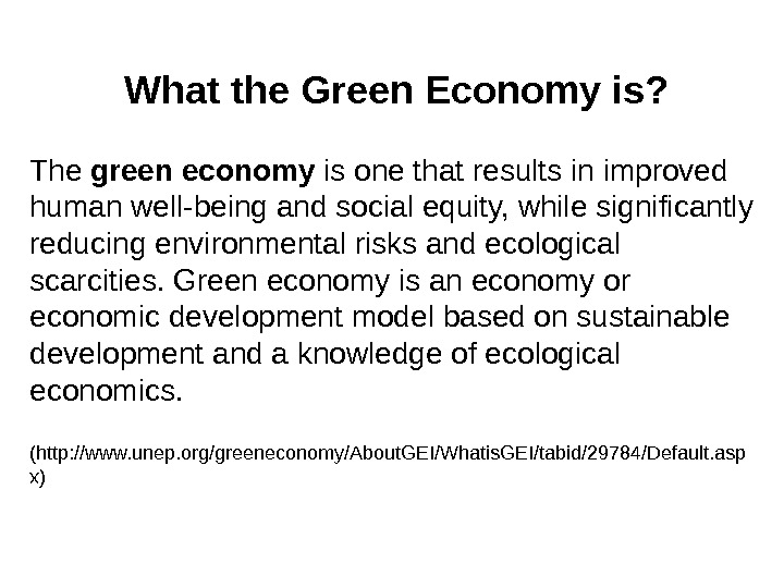 essay about green economy Towards a new, green economy  wider work on the green economy and is the starting point for our exploration of the green economy at community scale in this essay.