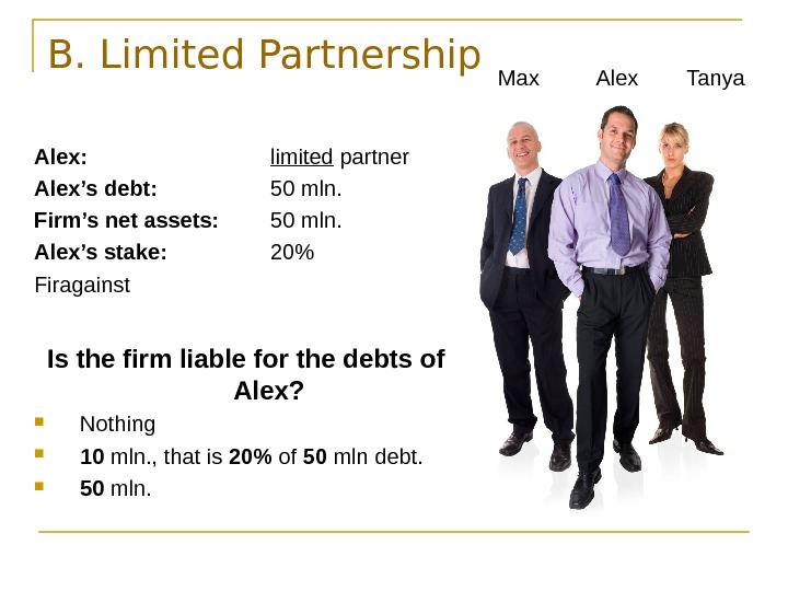assignment of limited partnership interest