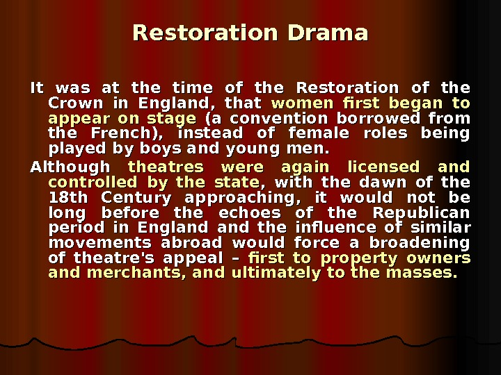 Broadview Anthology of Restoration and Eighteenth