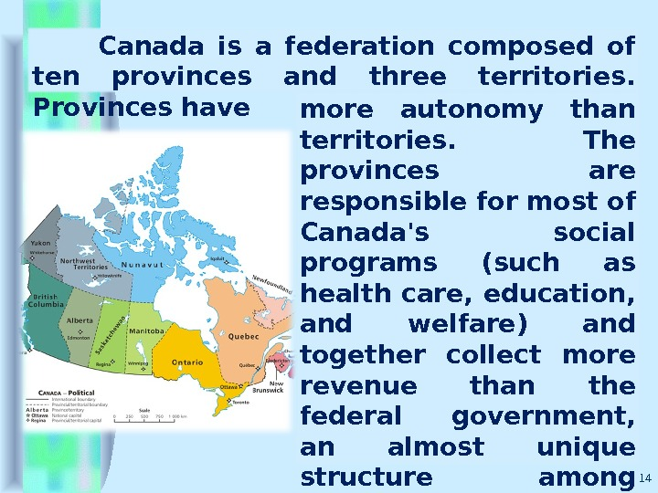 canada s autonomy