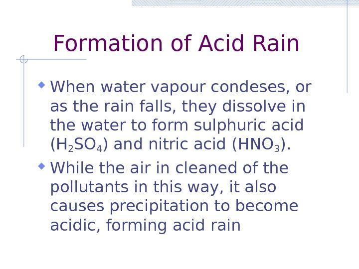 Acid Precipitation Definition