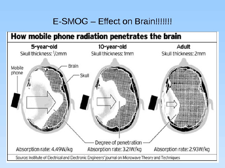 the effect of mobile phone radiation