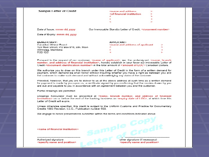 Business Correspondence Collection Letters Methods Of Payment