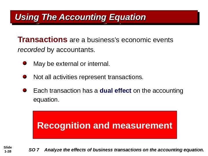 slide 1  u2014 1 chapter 1 accounting