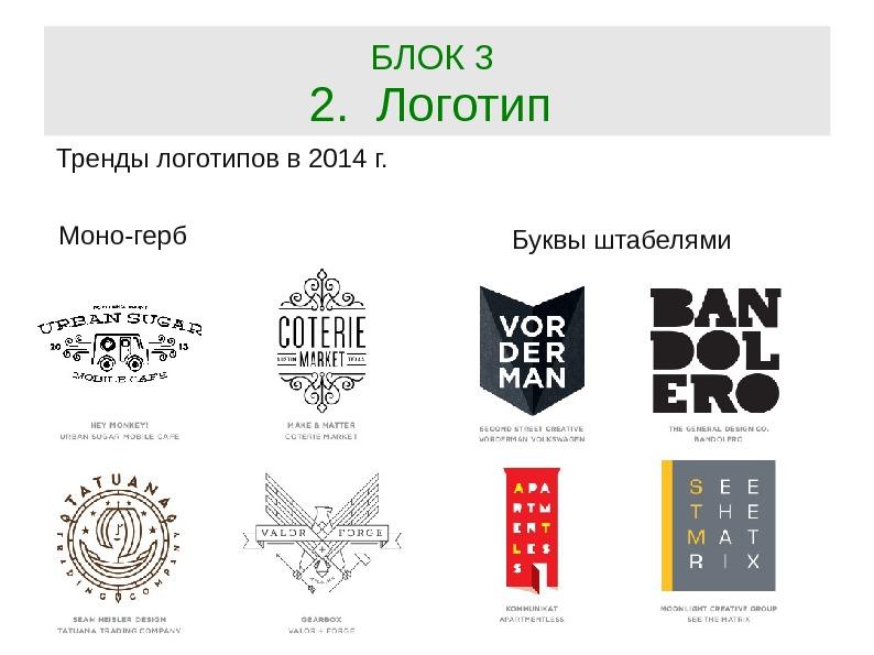 Создание логотипов в графическом дизайне