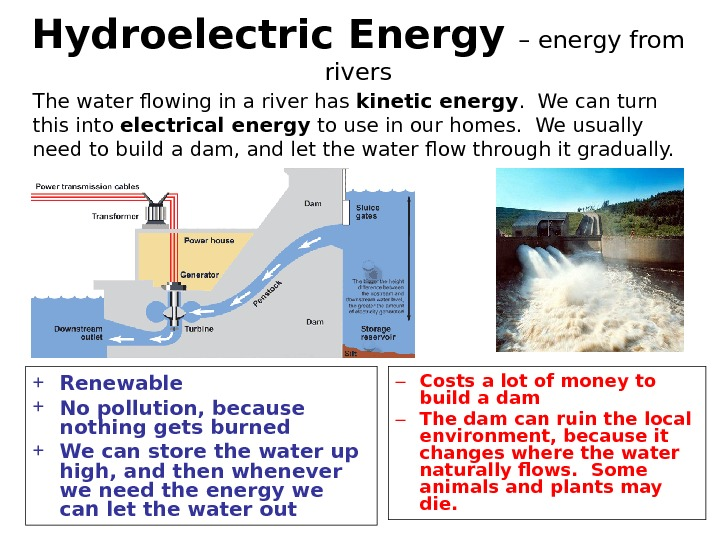 a renewable energy resource the hydroelectric