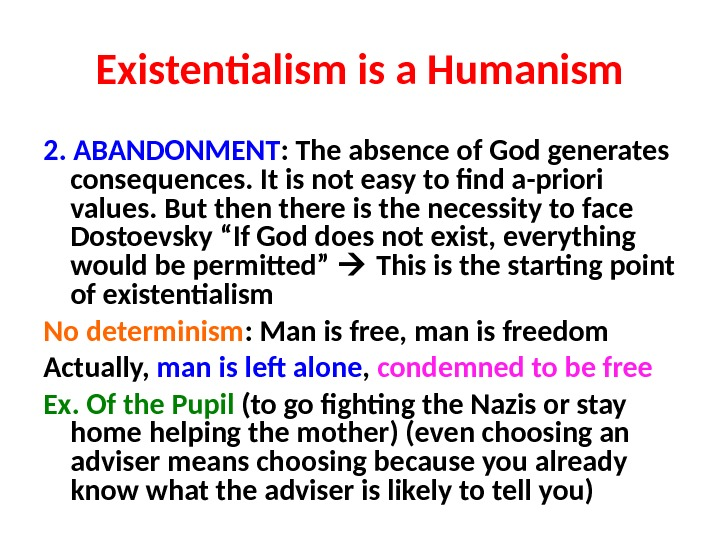 essays on existentialism is a humanism Essays in existentialism has 862 ratings and 21 reviews  existentialism is a  humanism is a substantial essay in that it, in my opinion, successfully refutes the .