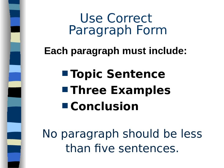 five paragraph essay biography How to write a five paragraph essay five paragraph essays are a common  assignment throughout your school career, especially in high school and college.