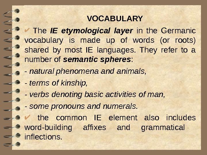 Germanic languages