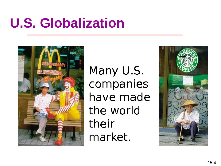globalisation has made the world a