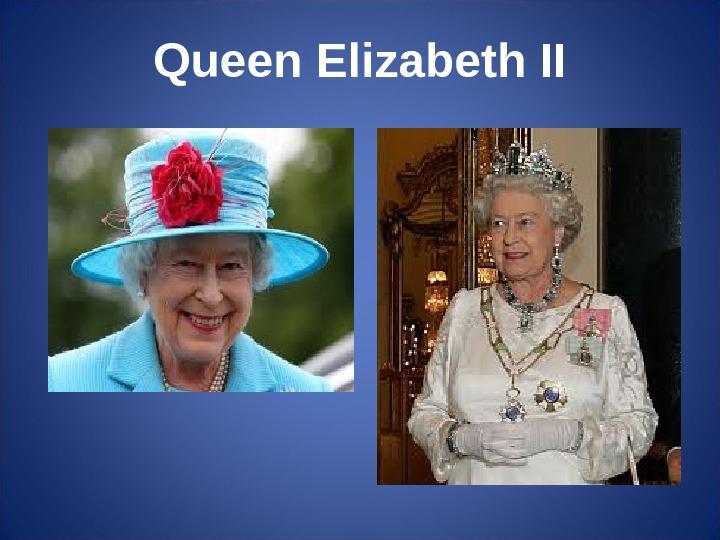 Great Britain Queen Elizabeth Ii Big