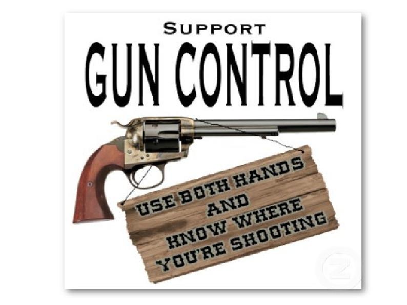 an argument on gun control as unconstitutional