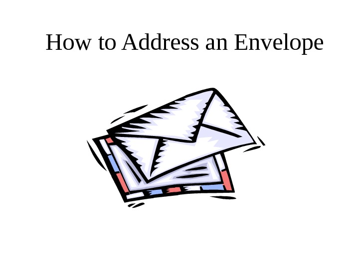 how to write po box address on envelope