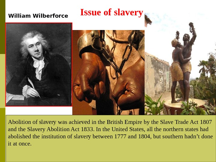slavery abolition essay The role of abraham lincoln in the abolition of slavery i am going to analyze the essay, the role.