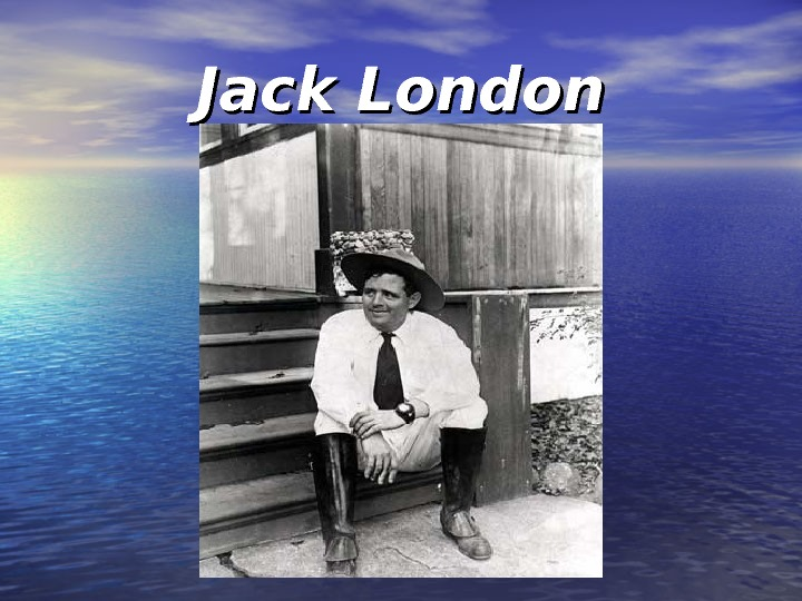 an introduction to the life of jack london Introduction by gary kinder  as a young man in the summer of 1897, jack  london joined the klondike gold rush  stories had been somehow lived–that  they were not merely observed–that the author was not telling tales but telling his  life.