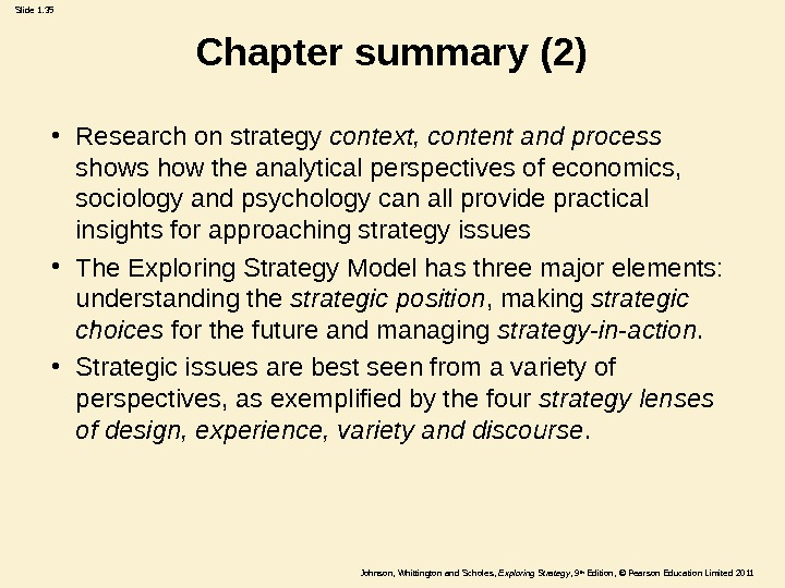 whittingtons four generic approaches to strategy commerce essay This list of management research paper topics provides 100 key issues and topics that managers are confronting in the modern world new technologies, globalization, and associated ethical implications frame many of these issues like the management of nonprofit, arts, healthcare, sports, and philanthropic organizations.