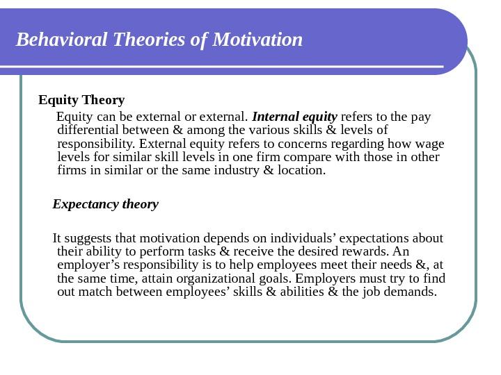 differences between internal and external motivation