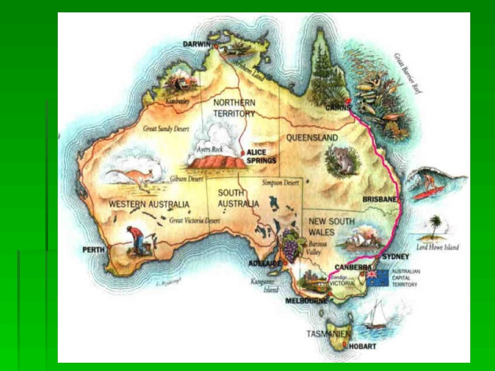 geography assignment on places in australia