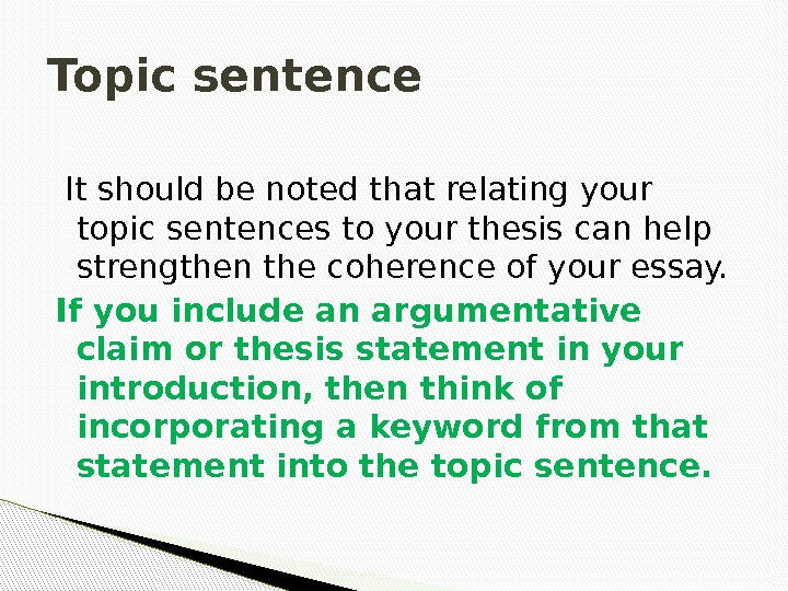strong thesis paragraphs Chapter 8 writing essays: from start to finish your body paragraphs should closely follow the path set forth by your thesis statement strong body paragraphs.