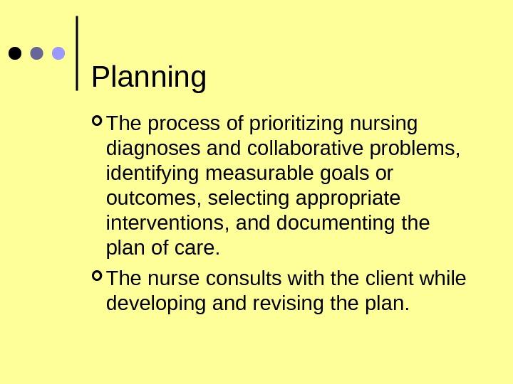 facilitating critical thinking within nursing process framework