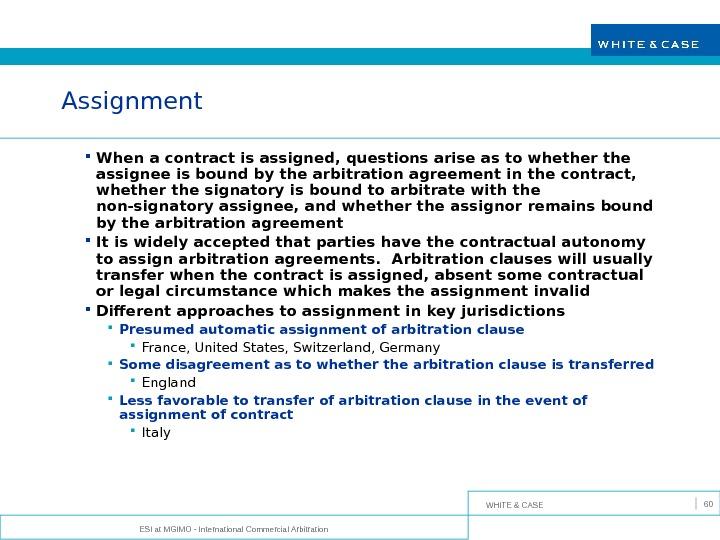 An overview of modern international arbitration
