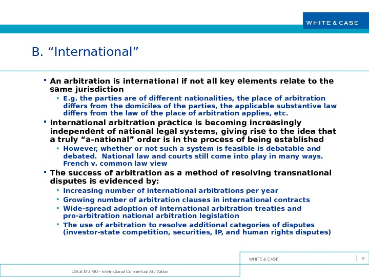 Update on China's international commercial court