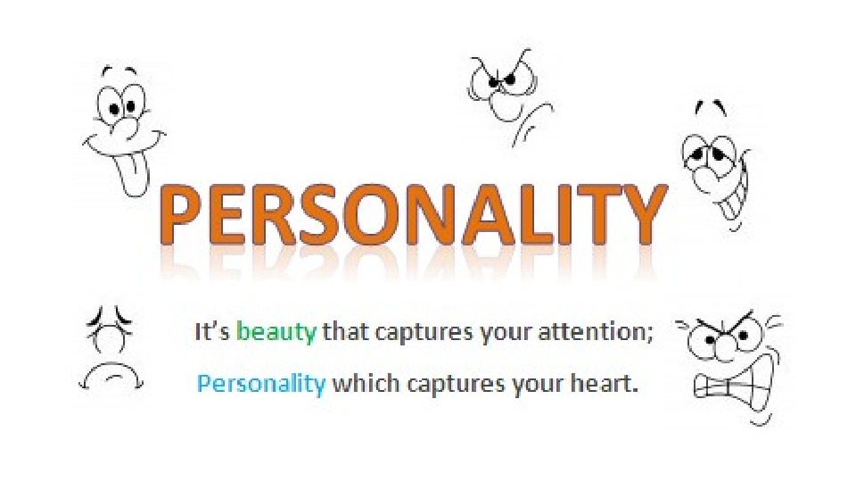 presentation about personality Personality refers to individual differences in patterns of thinking, feeling and behaving the study of personality focuses on individual differences in particular personality characteristics and how the parts of a person come together as a whole.