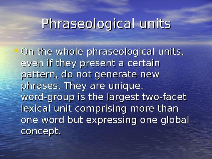 phraseological pun