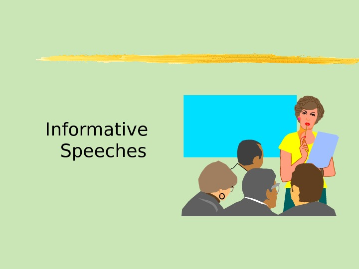 good topics for informative speech