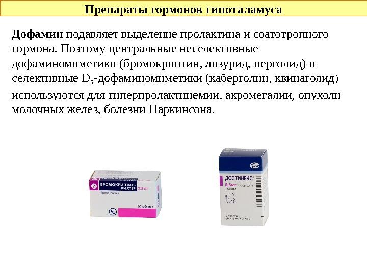 гормональный препарат фото