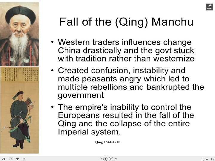 the collapse of the qing dynasty Start studying qing dynasty 🎎 world history learn vocabulary, terms, and more with flashcards, games, and other study tools.