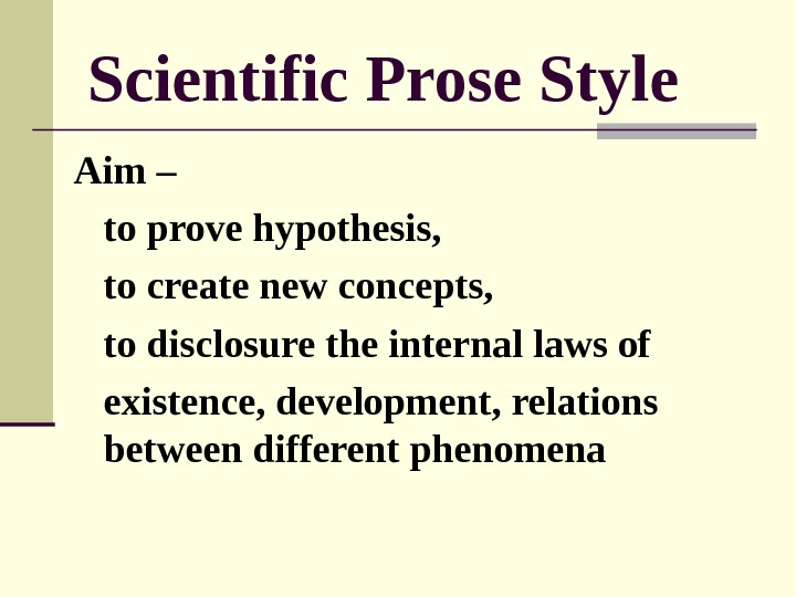 the development of prose style Bertrand russell: prose style  each essay is logically well knit and self-contained in each essay the development of the thought is continuous and strictly .