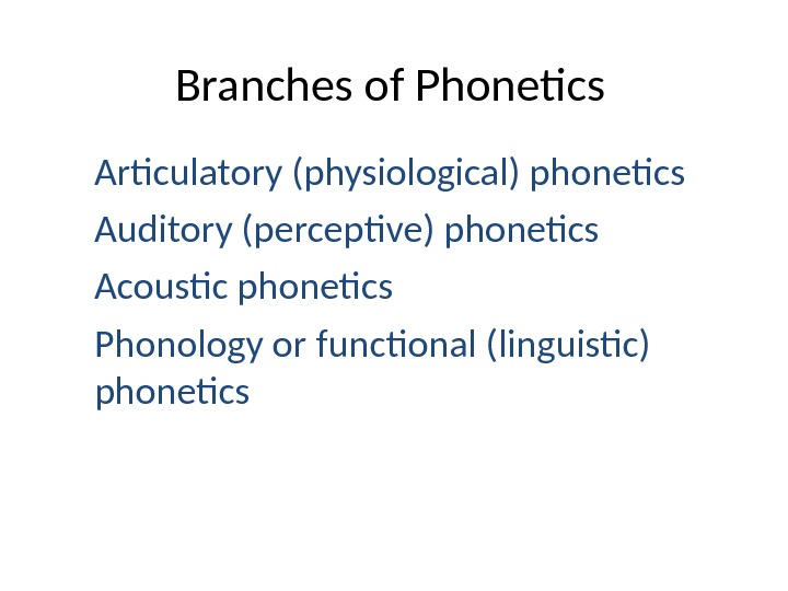 the subject matter of phonetics essay Free subject matter papers, essays, and research papers.
