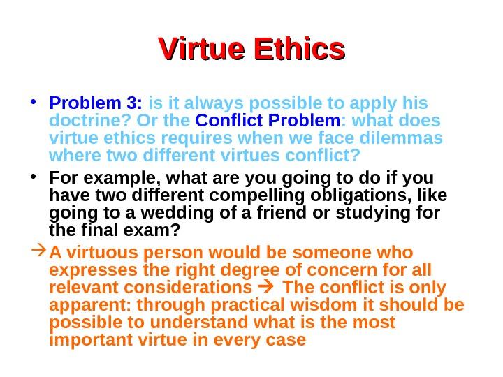 Virtue Ethics Notes