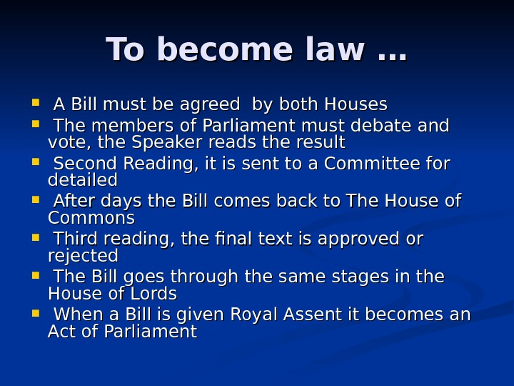 evaluation of parliament as a law Legal studies 3 & 4 commonwealth parliament and the roles played by the crown and the houses of parliament in law-making evaluation of the parliamentary law.