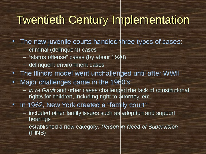 juvenile justice system 21st century unique Blog: juvenile justice reform of the provisions of the 21st century cures act argued to raise the age of youth in the state juvenile justice system.
