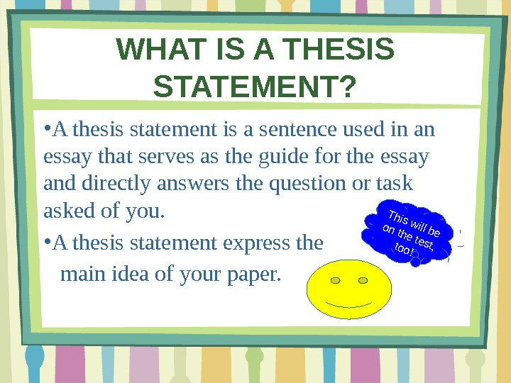 thesis statement interactive Create thesis statement, writing, eighth 8th grade english language arts   thesis builder - online interactive tool developed by tom march, one of the.